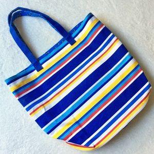 Handbags - Canvas Beach Tote NWOT